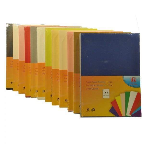 Картон 250гр. за визитки пакет 100л. металик